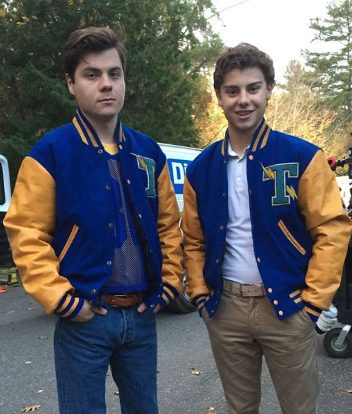 Jeremy Blue and Yellow Letterman Jacket