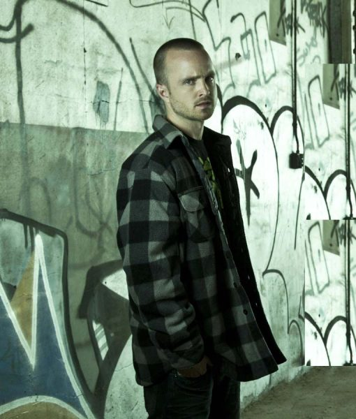 El Camino A Breaking Bad Checkered Jacket