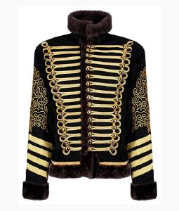 Jim Hendrix Hussars Military Jacket