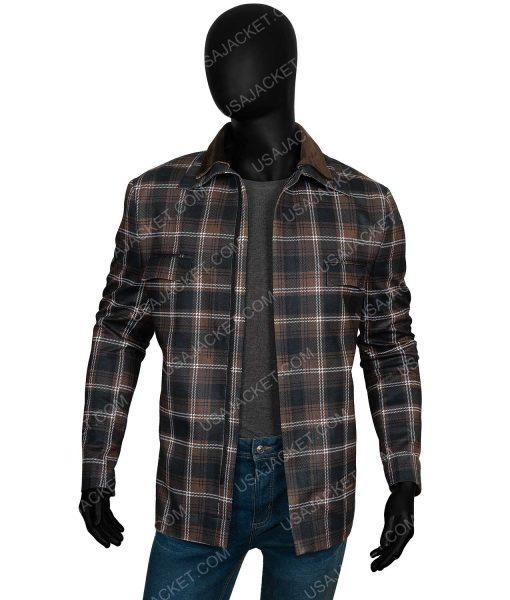 John Dutton Yellowstone s02 Plaid Jacket