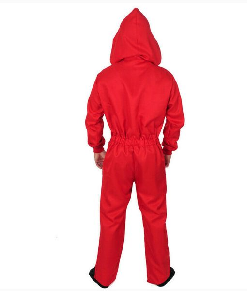 Money Heist Red Costume