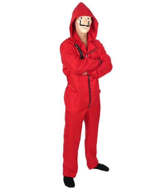 La casa de papel Dali Red Jumpsuit
