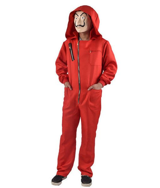 Money Heist La casa de papel Dali Red Jumpsuit