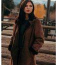 Yellowstone S02 Monica Shearling Coat