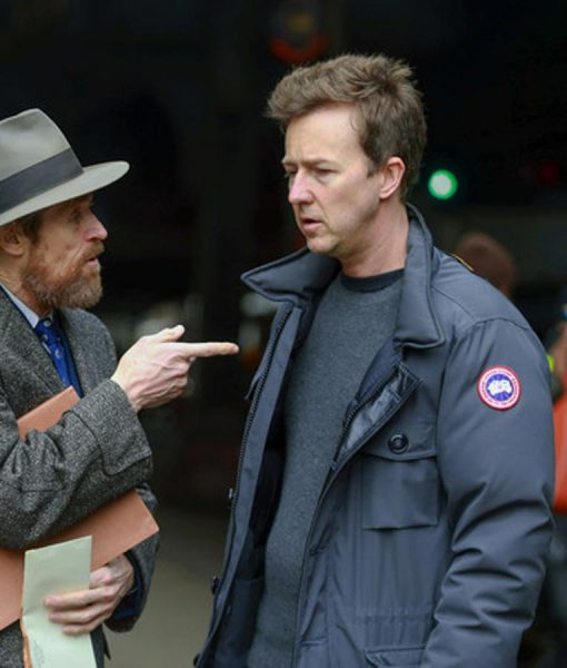 Motherless Brooklyn Edward Norton Military Jacket