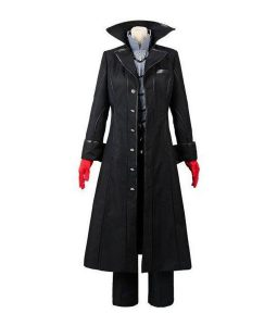 Video Game Persona 5 Joker Leather Coat