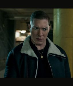 Power Egan Shearling Leather Jacket