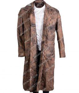 Salem John Alden Brown Long Coat