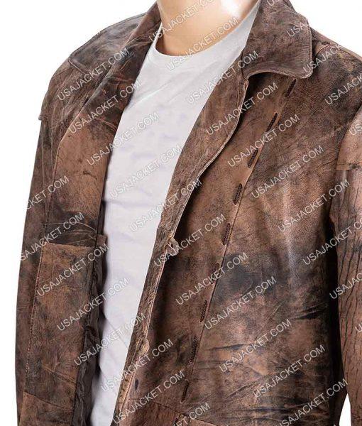 Salem Shane West Brown Leather Jacket