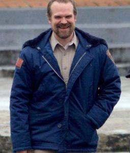 Stranger Things Jim Hooper Hooded Jacket