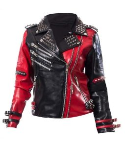 WWE Toni Storm Studded leather Jacket