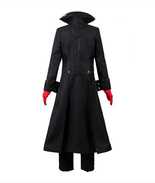 Joker Video game Persona 5 Black Long Jacket