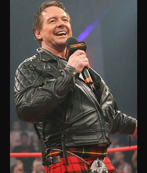 Rowdy Roddy Piper Leather Jacket