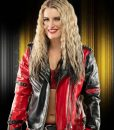 WWE Toni Storm Red and Black leather Jacket