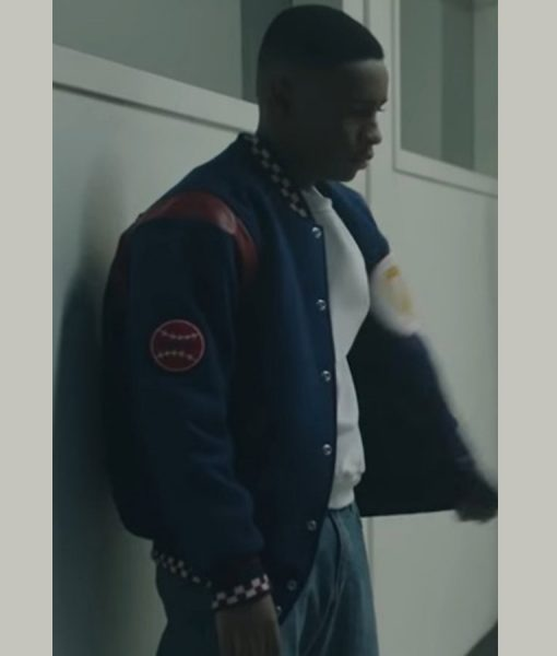 Antron McCray When they See Us Letterman Jacket