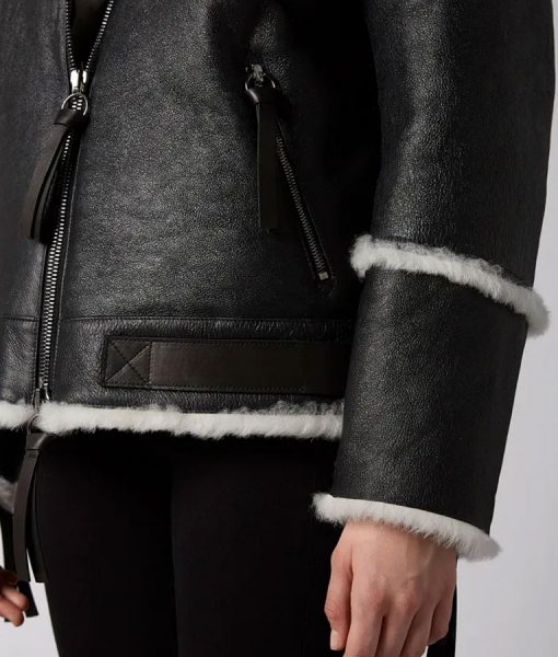 Sheepskin Leather Shearling Jacket