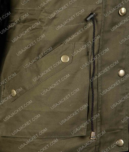 Women's Army Green Jacket