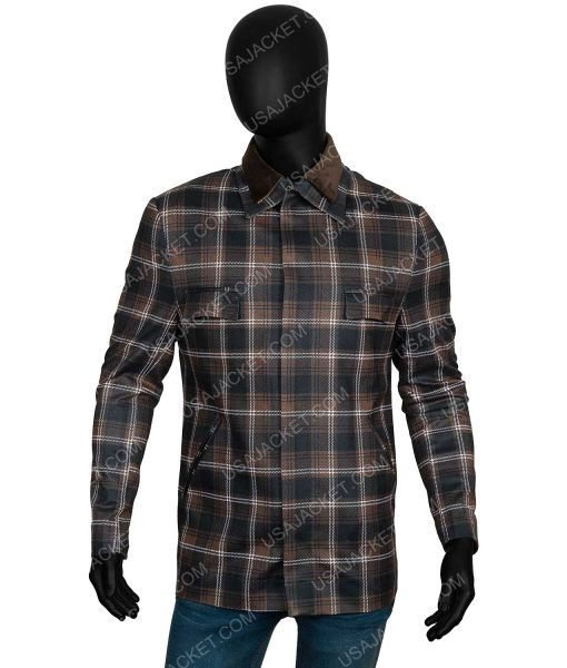 John Dutton Yellowstone Season 02 Plaid Jacket