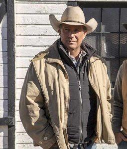 Kevin Costner Yellowstone Western Jacket