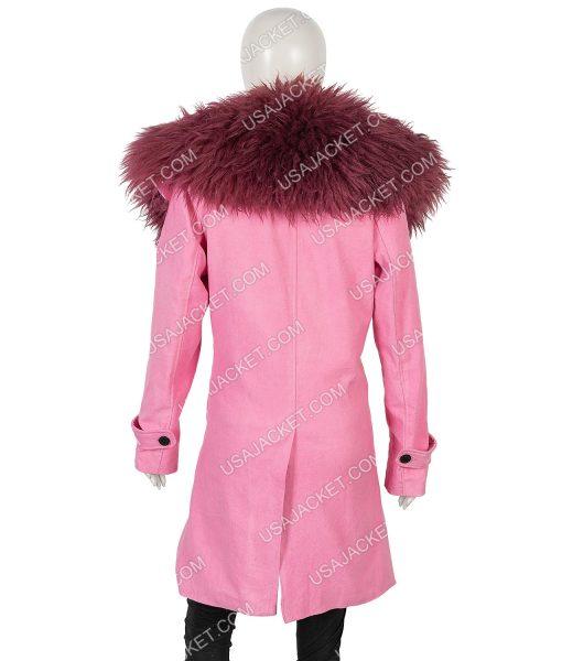 Anne Hathaway Modern Love Pink Lexi Coat