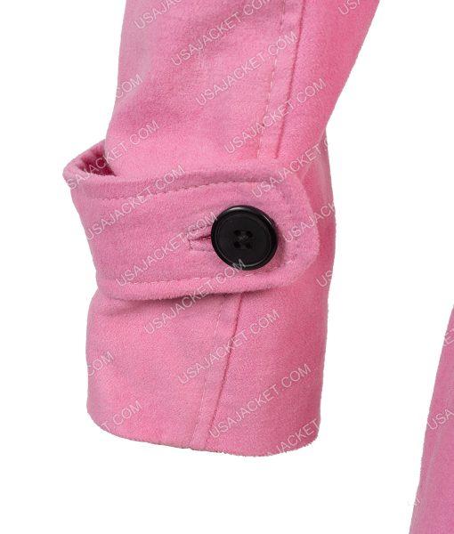 Modern Love Pink Fur Collar Lexi Coat
