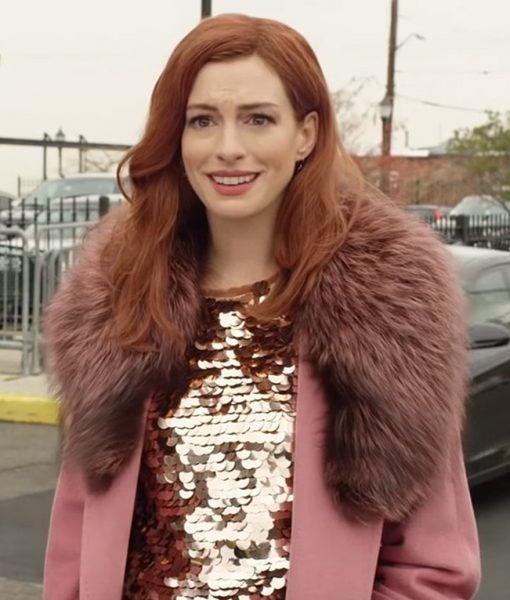 Anne Hathaway Modern Love Collar Lexi Coat