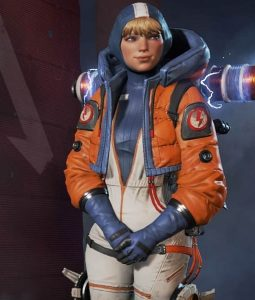 Apex Legends S02 Wattson Cropped Jacket With Hood