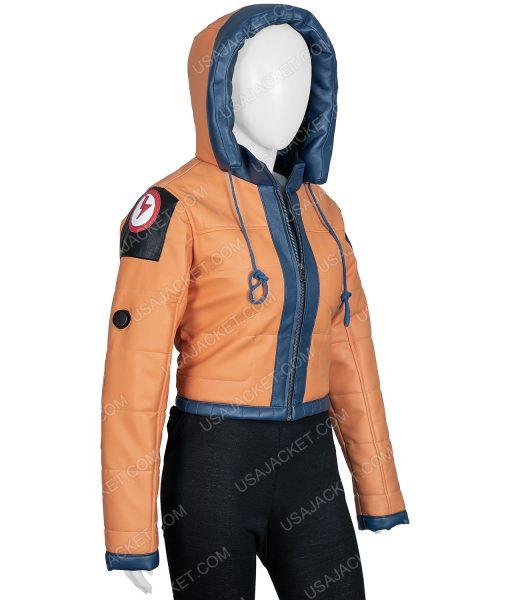 Apex Legends Season 02 Wattson Cropped Hooded Jacket