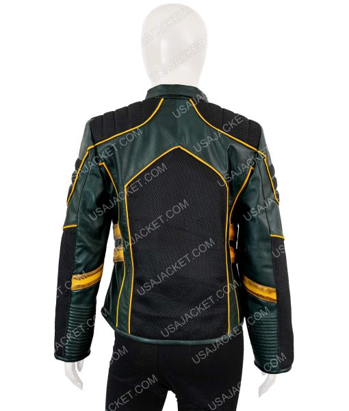 Arrow Season 08 Katie Cassidy Black Canary Laurel Lance Leather Jacket