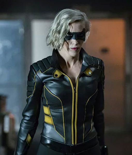 Arrow Spinoff Katie Cassidy Black Canary Jacket
