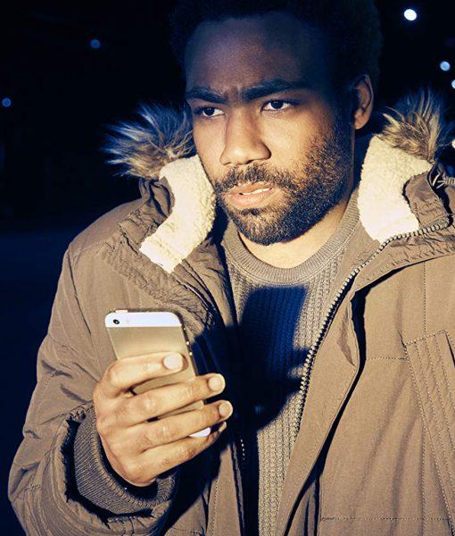 Atlanta Donald Glover Teddy Perkins Earnest 'Earn' Marks Parka Jacket