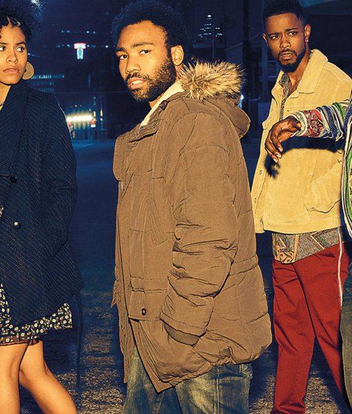 Atlanta Earnest 'Earn' Marks Parka Jacket