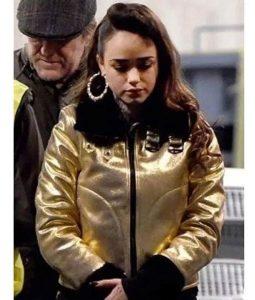 Rose Williams Curfew B3 Shearling Jacket