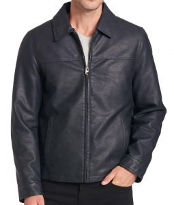 Barry Faux Leather Jacket