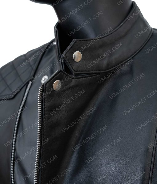 Damian Lewis Bobby Axelrod Leather Jacket