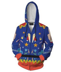 Birds Of Prey Harley Quinn Zip-up Hoodie