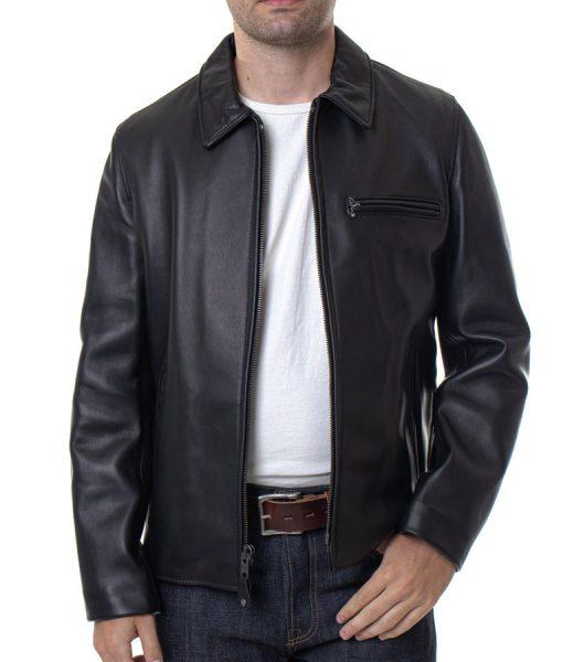 Black Lambskin Floyd B Jacket