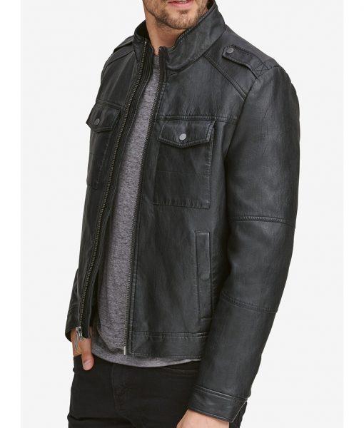 Sylvester Black Slimfit Jacket