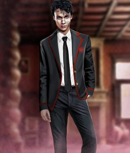 School Uniform Marcus Lopez Suit