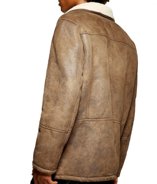 Brian Faux Shearling Jacket