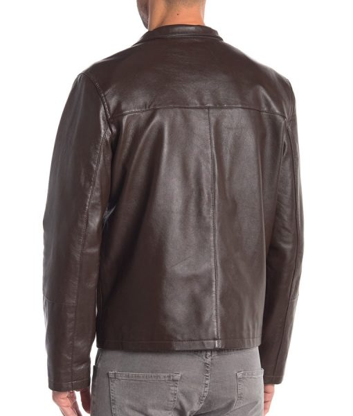 Andre Genuine Leather Slimfit Jacket