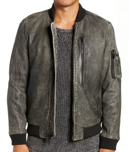 Charles Grey Bomber Jacket