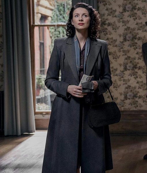 Claire Randall Outlander s03Trench Coat