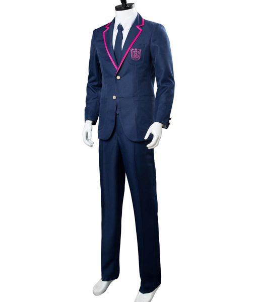 Blue Deadly Class Suit