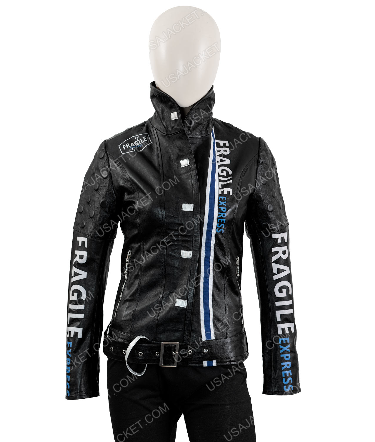 Death Stranding Leather Jacket Fragile Express Jacket Hit square on the prompt to be taken to the fast travel. fragile express death stranding jacket