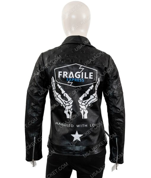Death Stranding Fragile Express Black Jacket