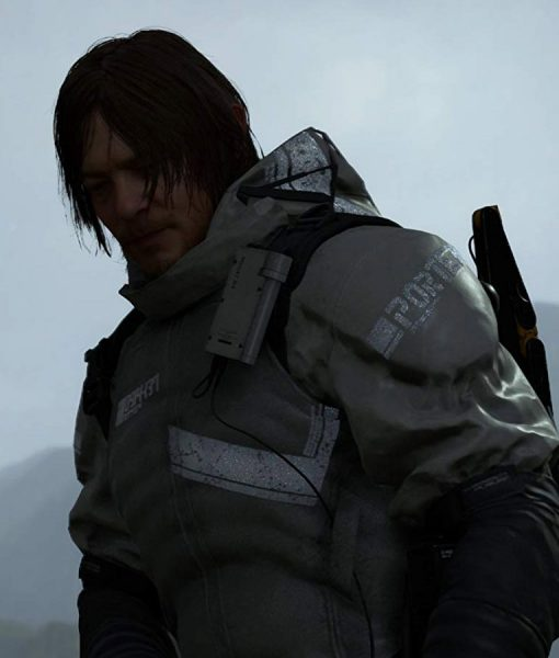 Death Stranding Norman Reedus Hooded Jacket