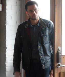 Stumptown Detective Miles Hoffman Black Jacket