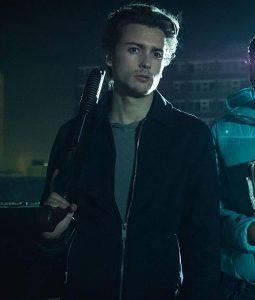 Curfew Black Zane Fleece Jacket