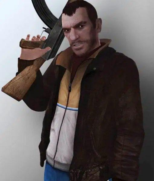 Grant Theft Auto Niko Bellic Bomber Jacket
